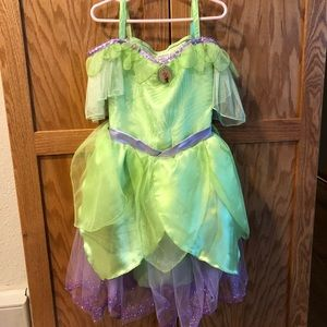 Disney store tinker bell dress up dress
